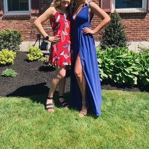 Blue prom dress!